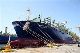 Tàu container lớn nhất thế giới đi vào hoạt động