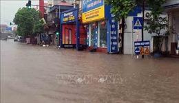 Mưa rào đầu mùa khắc phục tình trạng khô hạn kéo dài tại Vĩnh Phúc