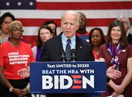 Bầu cử Mỹ 2020: Ông Joe Biden lần đầu xuất hiện sau hai tháng giãn cách xã hội