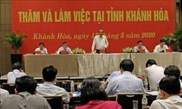 Phó Thủ tướng Trương Hòa Bình đánh giá cao kết quả cải cách hành chính của Khánh Hòa