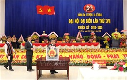 Đại hội đại biểu Đảng bộ huyện vùng biên Ia H'Drai (Kon Tum)