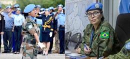 Liên hợp quốc trao giải thưởng cho hai nữ quân nhân Ấn Độ, Brazil