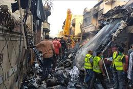 Điện chia buồn với Cộng hòa Nhân dân Pakistan về vụ máy bay gặp nạn, làm 97 người chết