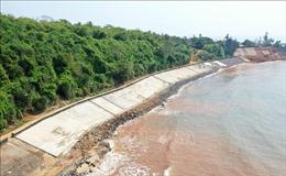 Bảo vệ Di tích Quốc gia đặc biệt Địa đạo Vịnh Mốc ngăn biển xâm thực