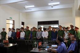 Tuyên án 28 đối tượng gây rối trật tự công cộng ở Tiền Giang