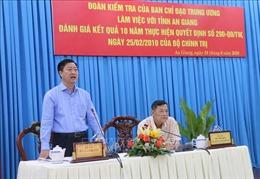 Đổi mới hoạt động tiếp xúc, đối thoại của người đứng đầu cấp ủy, chính quyền với nhân dân