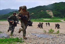 Hàn Quốc tập trận bắn đạn thật giữa căng thẳng với Triều Tiên