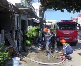 Dập tắt kịp thời đám cháy lớn từ ngôi nhà tình nghĩa ở Phú Yên