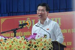 Đồng chí Võ Văn Thưởng tiếp xúc cử tri huyện Xuân Lộc, Đồng Nai
