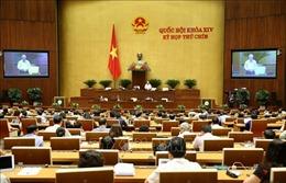 Kỳ họp thứ 9, Quốc hội khóa XIV: Thông qua hai Nghị quyết, một Luật và tiến hành công tác nhân sự