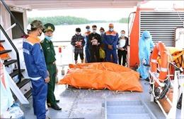 Vụ tàu TH 90282 TS va chạm với tàu Annie Gas 09: Bàn giao 4 thi thể thuyền viên còn lại cho gia đình