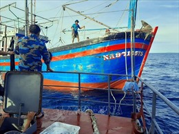 Các sự cố trên biển đã và đang được cứu hộ, cứu nạn
