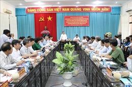 Trưởng Ban Kinh tế Trung ương Nguyễn Văn Bình làm việc với Tỉnh ủy Bến Tre