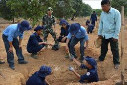 Hành trình không mỏi đi tìm đồng đội ngã xuống trên đất bạn Campuchia