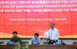 Khảo sát việc thực hiện Luật Cư trú tại TP Hồ Chí Minh