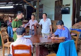 Tạm giữ chủ doanh nghiệp Hùng Ny mua bán, tàng trữ lâm sản trái phép