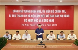 Hà Nội phấn đấu là trung tâm KH-CN hàng đầu Đông Nam Á trong một số lĩnh vực