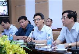Ban Chỉ đạo Quốc gia phòng chống dịch COVID-19 họp trực tuyến với một số bệnh viện