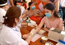 Khuyến khích người hiến máu đăng ký trước qua các ứng dụng