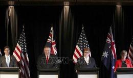 Mỹ và Australia khẳng định các tuyên bố chủ quyền tại Biển Đông phải được giải quyết theo luật pháp quốc tế