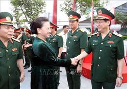 Chủ tịch Quốc hội Nguyễn Thị Kim Ngân thăm làm việc tại Tập đoàn Viễn thông Quân đội