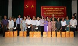 Phó Chủ tịch nước thăm, trao quà cho các gia đình chính sách tại Quảng Trị
