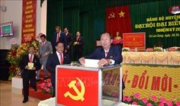 Sóc Trăng hoàn thành Đại hội Đảng bộ cấp trên cơ sở
