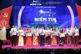 Tổng kết Cuộc thi 'Tìm hiểu 90 năm Ngày truyền thống ngành Tuyên giáo của Đảng'