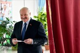Lãnh đạo Nga, Trung Quốc chúc mừng Tổng thống Belarus tái đắc cử