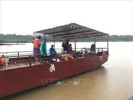 Lật thuyền trên sông Sê San, một người mất tích