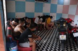 Bắt quả tang nhóm đối tượng sử dụng ma túy tại quán karaoke