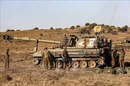 Israel thông báo 'sự cố an ninh'tại biên giới với Liban