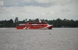 Tàu cao tốc Cần Thơ - Côn Đảo tạm ngừng hoạt động