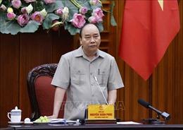 Thủ tướng chủ trì họp về số liệu thống kê và tình hình kinh tế - xã hội