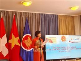 Cơ quan đại diện Ngoại giao Việt Nam tại Geneva gặp gỡ bà con Việt kiều