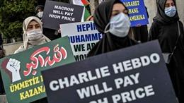 Biểu tình ở Thổ Nhĩ Kỳ phản đối tòa soạn Charlie Hebdo của Pháp