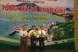 Trao giải cuộc thi sáng tác Slogan tỉnh Bà Rịa-Vũng Tàu