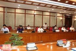 Thống nhất nội dung các văn kiện, báo cáo trình Đại hội Đảng bộ tỉnh Hà Nam lần thứ XX