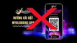 Bộ Công an cảnh báo về ứng dụng MyAladdinz