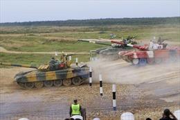 Đội tuyển xe tăng Việt Nam bước vào thi đấu chung kết Tank Biathlon