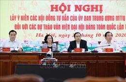 Góp ý dự thảo văn kiện Đại hội XIII:Đề cao sự ủng hộ, đồng thuận của nhân dân