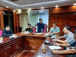 Thành lập Sở Chỉ huy tiền phương chỉ huy công tác tìm kiếm cứu nạn ở Bắc Trà My