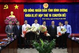 Bầu bổ sung chức danh Chủ tịch, Phó Chủ tịch UBND tỉnh Bình Dương