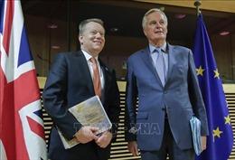 Lãnh đạo Anh và EU thúc đẩy 'vượt qua khác biệt' trong đàm phán thỏa thuận Brexit