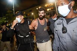 Israel bắt giữ nhiều đối tượng biểu tình vi phạm quy định phòng chống dịch COVID-19