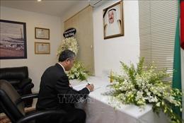 Lãnh đạo TP Hồ Chí minh viếng và viết sổ tang Quốc vương Kuwait