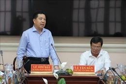 Đoàn công tác của Ủy ban Dân tộc làm việc tại Trà Vinh