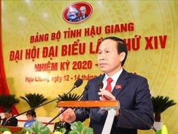 Tiến tới Đại hội XIII của Đảng: Đồng chí Lê Tiến Châu tái đắc cử Bí thư Tỉnh ủy Hậu Giang
