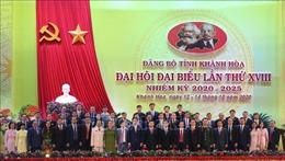 Tiến tới Đại hội XIII của Đảng: Đồng chí Nguyễn Khắc Định tái đắc cử Bí thư Tỉnh ủy Khánh Hòa