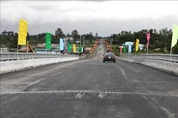 Khánh thành tuyến đường từ thành phố Sóc Trăng đến vùng trọng điểm tôm - lúa